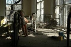 Opuszczone przedszkole w jednej z wsi Czarnobylskiej Strefy Wykluczenia