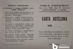 Karta Hotelowa