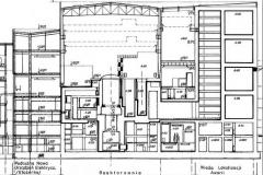 Reaktorownia i wieża lokalizacji awarii