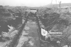 Budowa jednego z fragmentów tunelu technicznego.  fot. Stanisław Wiesiołowski